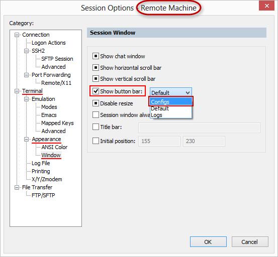 Tips - SecureCRT Button Bar Windows, Linux, and Mac