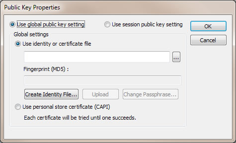 generate public key for linux
